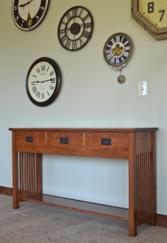 American Mission Sofa Table