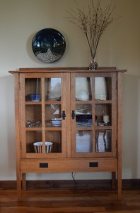 American Mission Display Cabinet