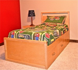 Alta Twin Bed With Drawers
