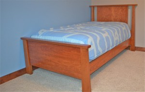 Keystone Twin Bed