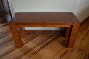 McKinley Entry Bench