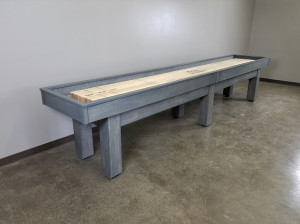 Maple Shuffleboard Table