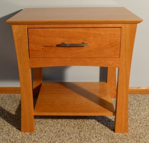 Sierra 1 drawer bedside table