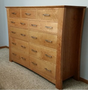 Sierra 11 drawer dresser
