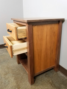 Bedside Table Dovetailed Drawer